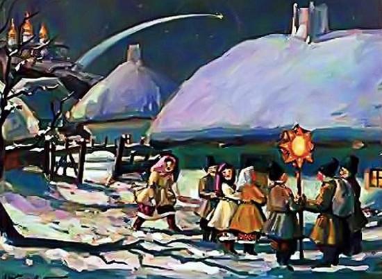 рождественские колядки, колядующие
