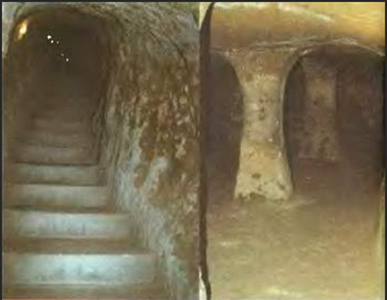 древний мир, подземные города