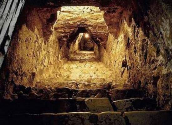 подземный город, таинственные находки