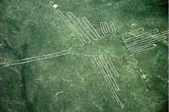 гигантские линии, плато Наска