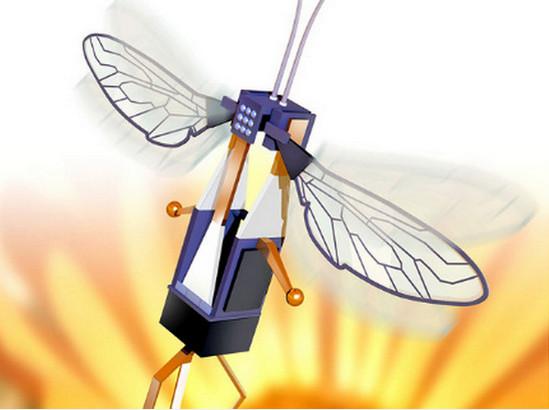 летательный аппарат, процесс сборки, работа крыла пчелы