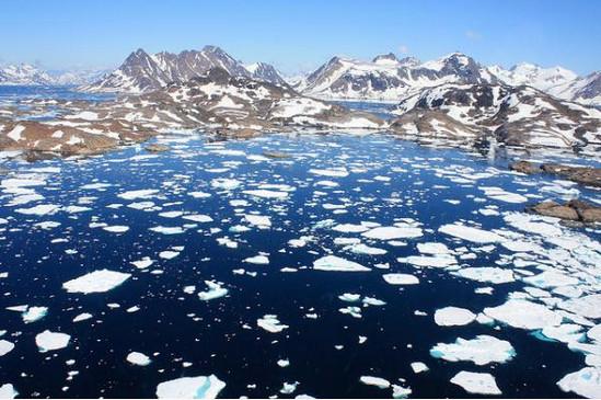 углекислый газ, таяние ледников