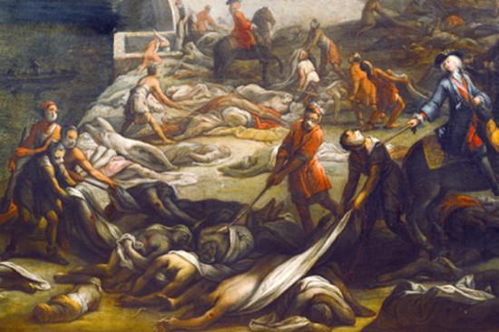 эпидемия бубонной чумы