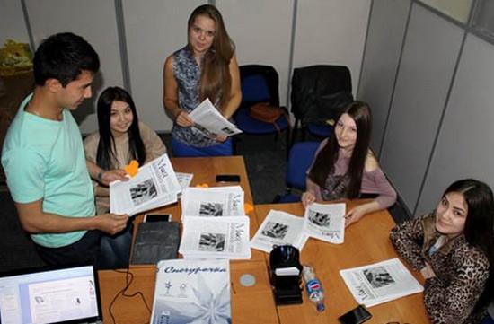 как организовать студенческую газету